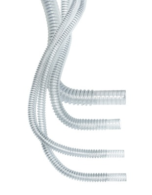 Type 777 Flexible Hose by Hi-Tech Medical, very strong yet lightweight, excellent clarity and odorless