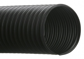 Hi-Tech Duravent Flexible Hose and Ducting - RFH - Thermoplastic rubber reinforced with wire helix